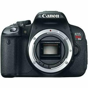 Canon t4i camera with or without lens
