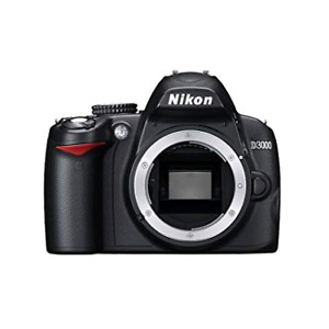 Nikon D3000 **BODY** and backpack