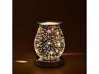 Electric oil/wax melt Touch Lamp 3D Stars