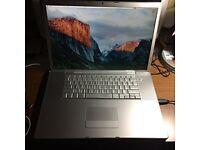 17 inch Apple MacBook Pro
