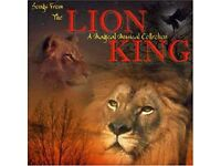 The Lion King Soundtrack CD