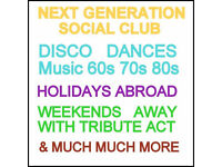 The Next Generation Social Club ...Everyone is welcome.