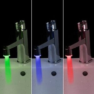 Soledi S-35722 LED Colour Changing Water Faucet *Brand New*