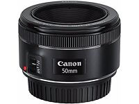 Canon EF 50 mm 1.8 STM Lens - PERFECT CONDITION. only a couple months old, bought brand new.