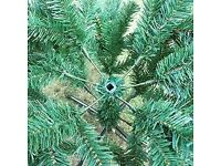 6ft Christmas Tree GREEN Pines Artificial Tree with Metal Stand