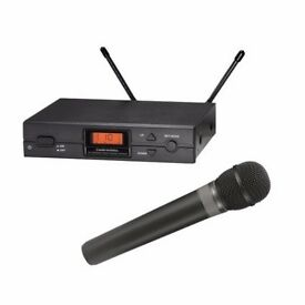 Audio-Technica Wireless Microphone and receiver. Bargain!