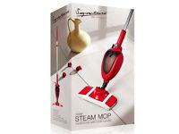 2 x Signature 1200w Steam Mops - Brand new