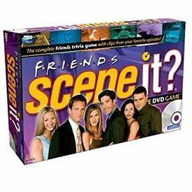 Scene It? Friends DVD Game Board Game NEW IN PACKAGING Family Fun Group Game COLLECTABLE