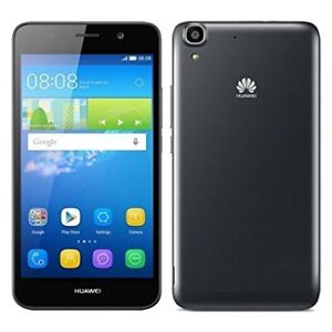 Black 8GB Huawei Y6 + Case+Charger Rogers/Fido/Chattr