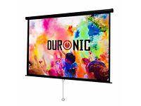 Duronic MPS80/43 Manual Pull Down Projector Screen