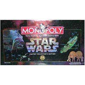 Monopoly 1997 Star Wars Limited Collector's 20th Anniv.Ed