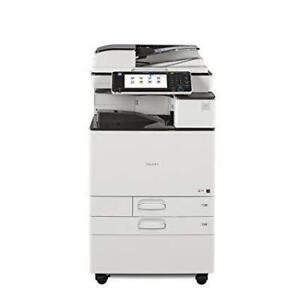 NEWER MODEL RICOH LOW PAGE COUNT Color Laser Multifunction Printer Copier Scanner at AMAZING PRICE OF JUST $79/MONTH.