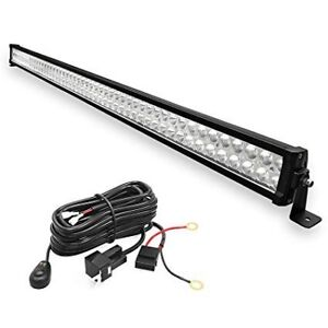 52 inch straight light bar with wiring harness and leg mounts