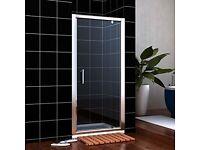 BRAND NEW BOXED Pivot Shower Door & Frame