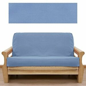 FUTON COVER..FRENCH BLUE..FULL SIZE