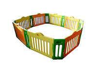 Baby vivo 4 side playpen + optional extention