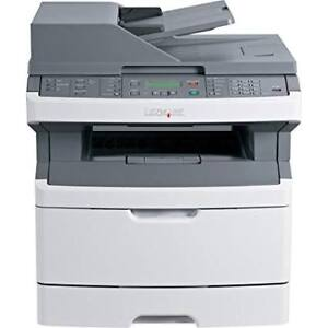 USED LEXMARK X364 black laser all-in-one printer copy no tax