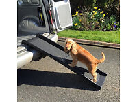 Dog Ramp - Brand New, never used and still in box. Suitable for large dogs, folds flat.