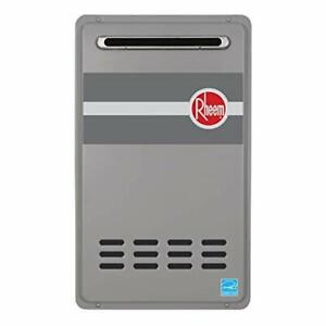 RHEEM 8.4 GPM NATURAL GAS ECONET ENABLED TANKLESS WATER HEATER -