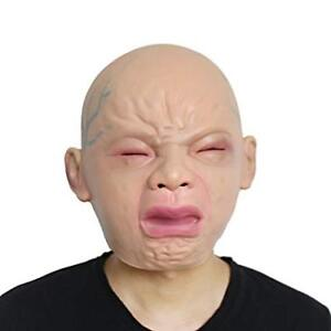 Crying Baby Mask Adult Halloween Creepy - NEW $25 each NO TAX