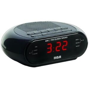 RCA RC205 Dual Wake AM/FM Alarm Clock