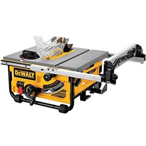 DEWALT 10-in 15 Amp Compact Job Site Table Saw