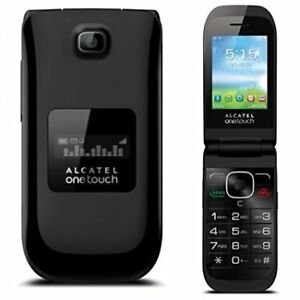 Alcatel Onetouch Flip Phone with free public mobile sim