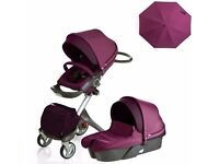 Stokke Xplory V4 Fully loaded!!! Nearly new -Complete travel system,Isofix base,pram pack &lots more