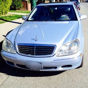 2001 Mercedes-Benz S-Class S-430 Sedan