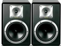 Tapco s8 studio monitors boxed