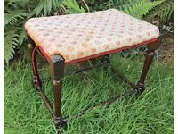 Stool in need of reupholstery - Good project