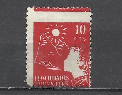 426-1937 PRO CIUDADES JUVENILES MURCIA,SIERRA ESPUÑA ,ALHAMA ? 10 CTS NUEVO(*)