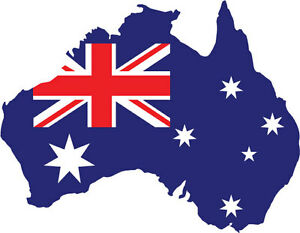 AUSTRALIAN-MAP-STICKER-Car-Bumper-Vinyl-10-cm-x-7-cm