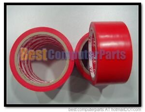 Work-Area-Caution-Floor-Warning-Ground-Attention-Sticky-Tape-Abrasion-Proof-Red