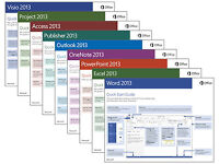 MICROSOFT OFFICE PRO SUITE v2013 for PC