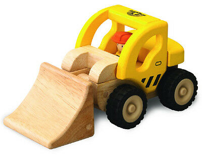 Wooden Construction Toys (NEW Wooden Toy Loader construction truck preschool toddler 18)