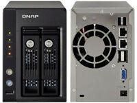 QNAP TS-239 Pro II+ Dual Bay NAS - Network Attached Storage - Server (Wallington, Croydon, Purley)