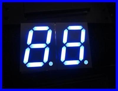 Kingbright 2-digit 7-segment-anzeige 1016mm Blau Kcdc04-136 1 Stck