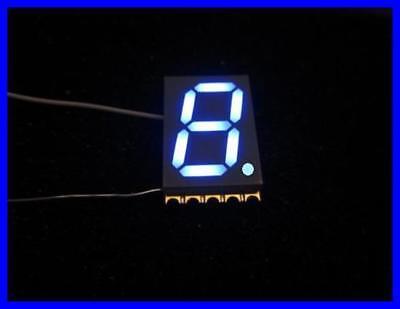 Kingbright 1-digit 7-segment-anzeige 10.16mm Blau Kcsc04-136 2 Stck