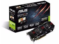ASUS 4GB GTX670 Graphics card