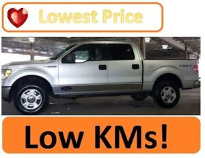 Low KMs-2010 4x4 Ford F-150 Automatic SuperCrew XLT Pickup Truck