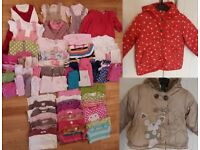 1-1 ½ years girls' clothes bundle