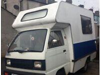 1989 G Reg Bedford Bambi Long MOT Motorhome Toilet 2 Berth Camper Van
