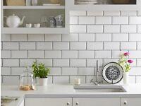 Metro brick wall tiles