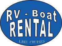 *Camping* RV Trailer Rentals *Lake Cruises - Boat Rental*