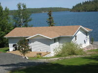 LAKE HOME FOR SALE ON PERRAULT LAKE