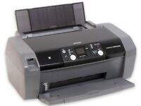 Epson Stylus Photo R240 + Lots of Ink Cartridges