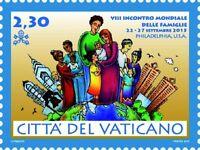 Francobolli Vaticano 2015 -viii Incontro Mondiale Delle Famiglie - mondi - ebay.it
