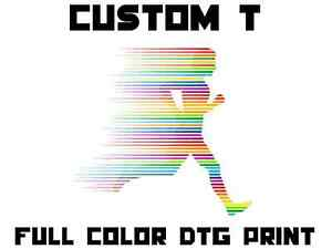 CUSTOM T-Shirt with Full Color DTG Print