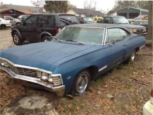 Wanted  1967 4door impala